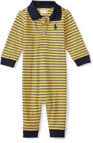Ralph Lauren Striped Mesh Polo Coverall