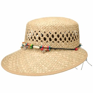 Lipodo Indila Straw Hat Women - Made in Italy Cap Sun with Peak