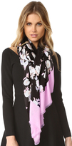 Kate Spade Posy Floral Oblong Scarf
