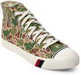 Pro-Keds Green Royal Camo High Top Sneakers