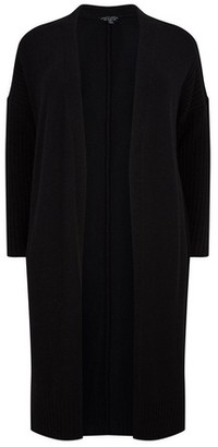 Dorothy Perkins Womens **Dp Curve Black Long Cardigan, Black