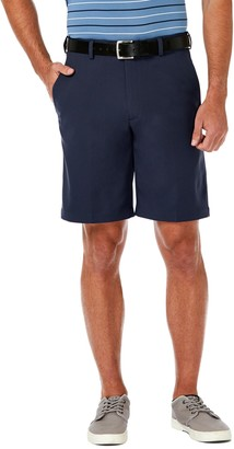Haggar Men's Cool 18 Pro Gabardine Flat Front Shorts