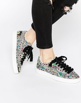 Puma States X SWASH Toucan Print Basket Sneakers