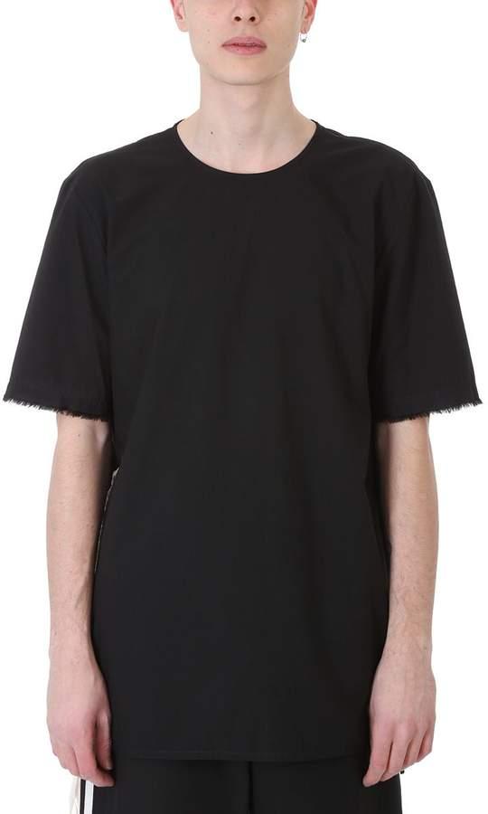 Damir Doma Their Black Poplin Cotton T-shirt