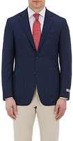 Canali Men's Two-Button Kei Sportcoat-NAVY