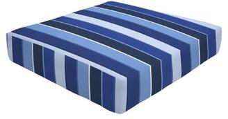 """Eddie Bauer Knife Edge Indoor/Outdoor Sunbrella Ottoman Cushion Size: 5"""" H x 24"""" W x 24"""" D"""