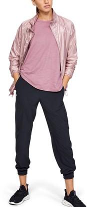 Under Armour Women's UA Recover Woven Iridescent Full Zip