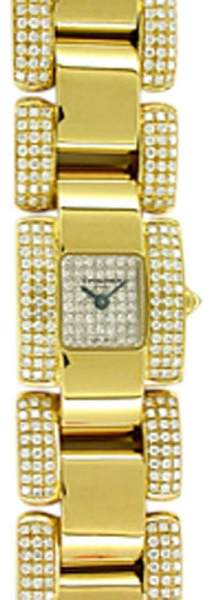 Chaumet Diamond Champs-Elysées 18K Yellow Gold Watch