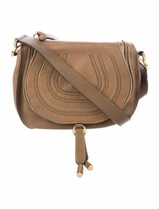 Chloé Medium Marcie Crossbody Bag Brown