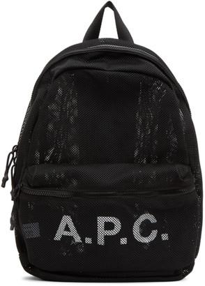 A.P.C. Black Rebound Backpack