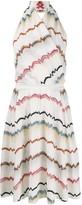 Missoni intarsia knit v-neck dress