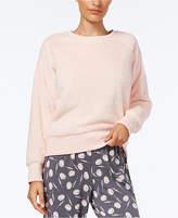 Alfani Fuzzy Pajama Top, Created for Macy's