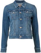 Mother denim jacket - women - Cotton/Spandex/Elastane/Acetate - S