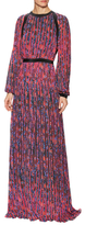 Mary Katrantzou Deveraux Pleated Print Gown