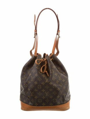 Louis Vuitton Vintage Monogram Noe Brown