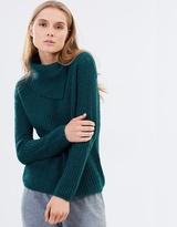 Sportscraft Shannon Split-Neck Knit
