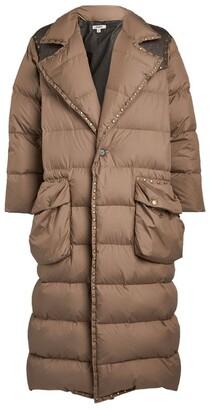 Phipps Longline Studded Puffer Coat