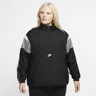 Nike Women's Woven Jacket (Plus Size Sportswear Heritage