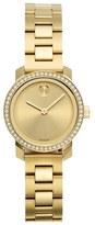 Movado 'Bold' Diamond Bezel Bracelet Watch, 25mm