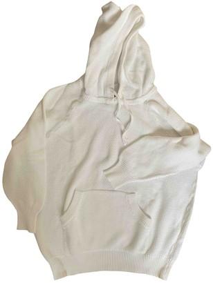 Hermes White Cotton Knitwear for Women Vintage