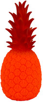 Good Night Light - Red Vinyl Pineapple Colada Lamp - red - Red/Red