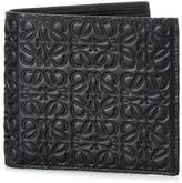 Loewe Logo-debossed leather bi-fold wallet