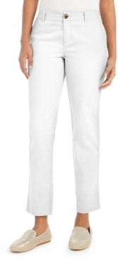 Style&Co. Style & Co Straight-Leg Chino Pants, Created for Macy's