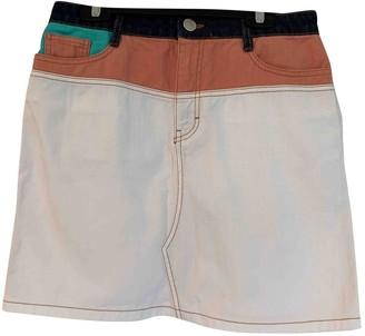 Maje White Denim - Jeans Skirt for Women
