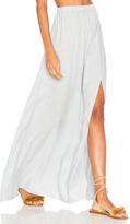 Clayton Stripe Twill Jen Slit Skirt