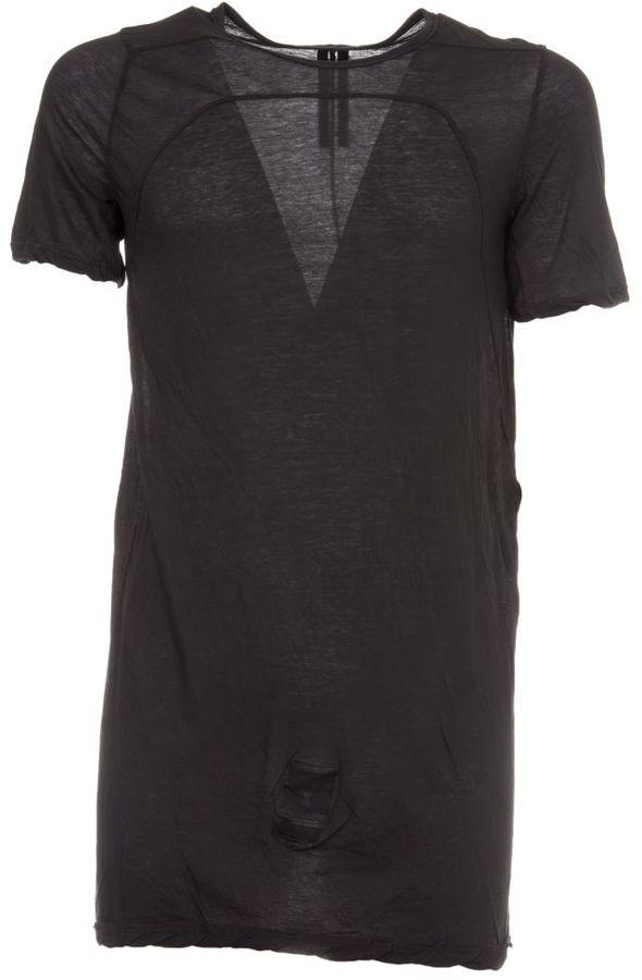 Drkshdw Rick Owens Black Basic T-shirt
