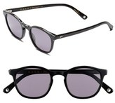 Raen Men's 'St. Malo' 48Mm Sunglasses - Black