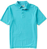 Margaritaville Burnout Pique Polo Shirt