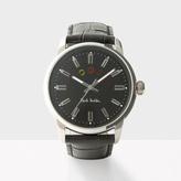 Paul Smith Men's Black 'Block' Watch