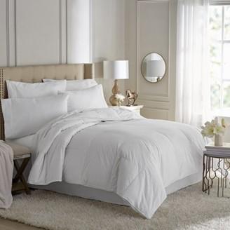 +Hotel by K-bros&Co Hotel Style Premium Hypoallergenic White Goose Down Comforter, White