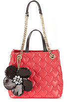 Betsey Johnson Be My Better Half Shopper Tote