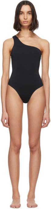 Haight Black Organic One-Piece Swimsuit