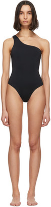 Haight Black Organic One-Piece Swimsuit