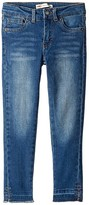 Levi's Kids 710 Lola Ankle Super Skinny Jeans (Little Kids) (Blue Winds) Girl's Jeans