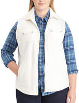 Chaps Plus Size Fleece Vest