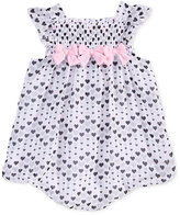First Impressions Heart-Print Bubble Romper, Baby Girls (0-24 months), Only At Macy's