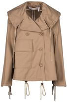 See by Chloe Short A-line Trench Jacket