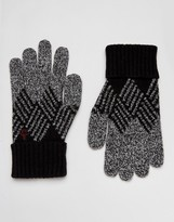 Original Penguin Argyle Gloves