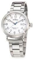 Shinola Runwell Stainless Steel 3HD 41mm Bracelet Watch