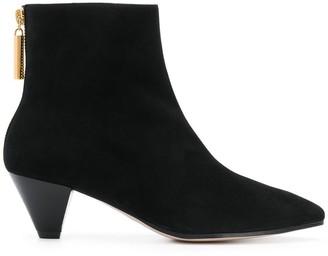 Stuart Weitzman zipped ankle boots