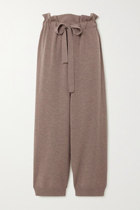 LE 17 SEPTEMBRE Wool Pants - Brown