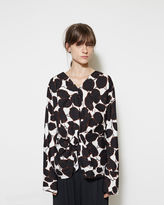 Marni Printed Twist Blouse