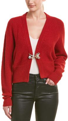 Dolce & Gabbana Dolman Alpaca & Wool-Blend Cardigan
