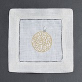 Sferra Ornament Cocktail Napkins, Set of 4