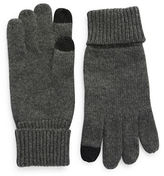 Black Brown 1826 Cashmere Smart Gloves