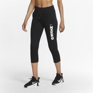 Nike Women's 7/8 Training Pants Dri-FIT Icon Clash
